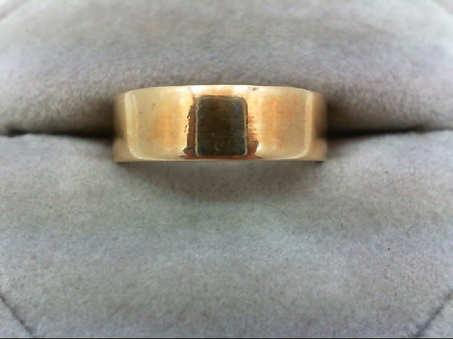Lady's Gold Wedding Band 14K Yellow Gold 4.9g Size:7