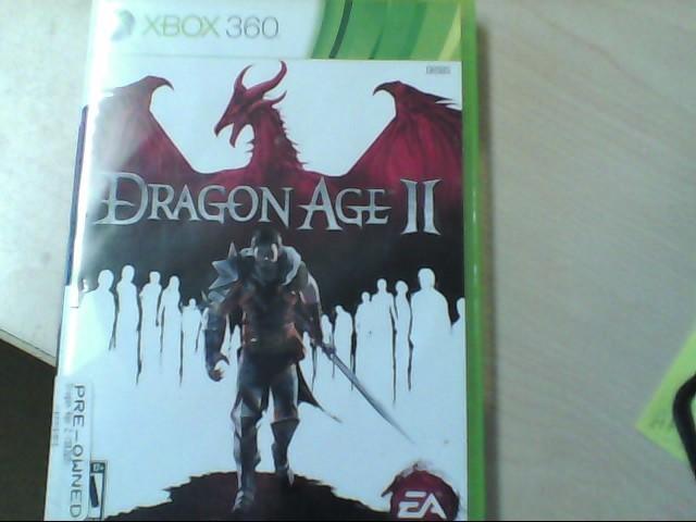 XBOX 360 GAME DRAGON AGE II