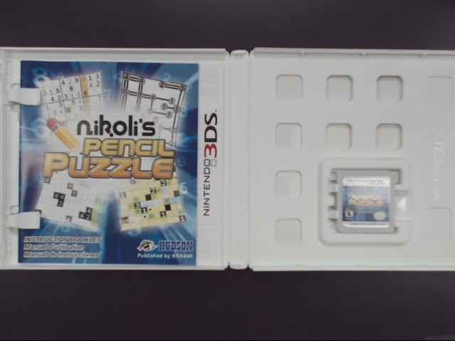 Nikoli's Pencil Puzzle (Nintendo 3DS, 2011)