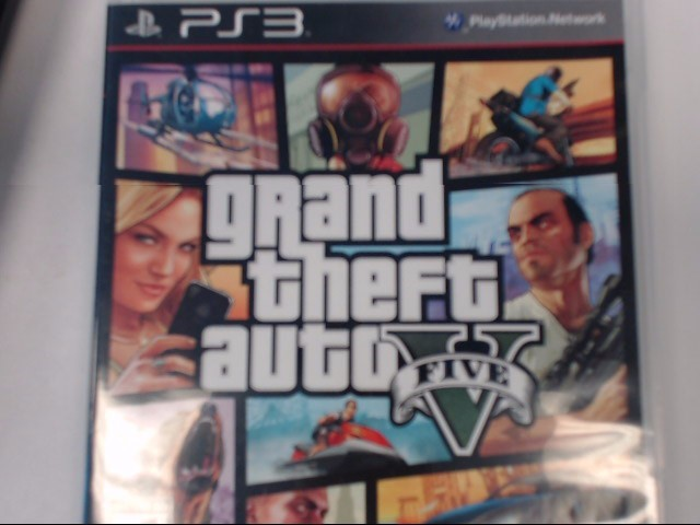 SONY PLAYSTATION 3 GRAND THEFT AUTO V
