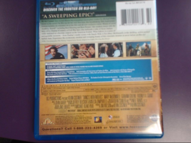20TH CENTURY FOX Blu-Ray DANCCES WITH WOLVES