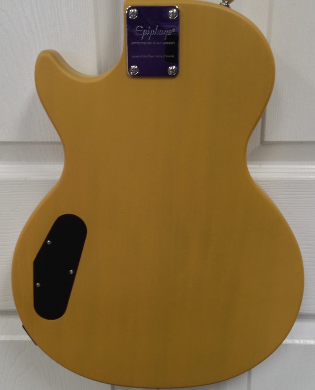 EPIPHONE LES PAUL SPECIAL CUSTOM SHOP MODEL MATTE YELLOW