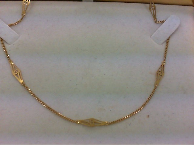"24"" Gold Chain 18K Yellow Gold 5.5g"