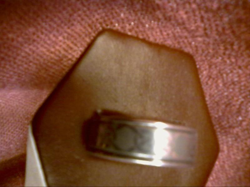 Gent's Ring Silver Titanium 9.82dwt SIZE 9.5