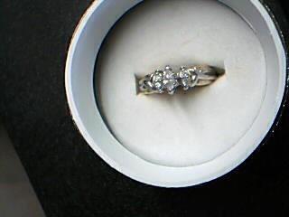 Lady's Diamond Fashion Ring 5 Diamonds .37 Carat T.W. 14K Yellow Gold 3.53g