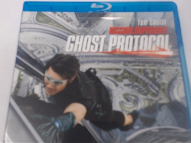 MISSION IMPOSSIBLE GHOST PROTOCOL - BLU-RAY MOVIE