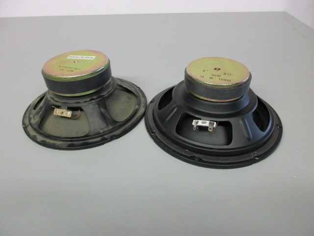 "UNBRANDED 8"" SPEAKERS, MADE IN TAIWAN"
