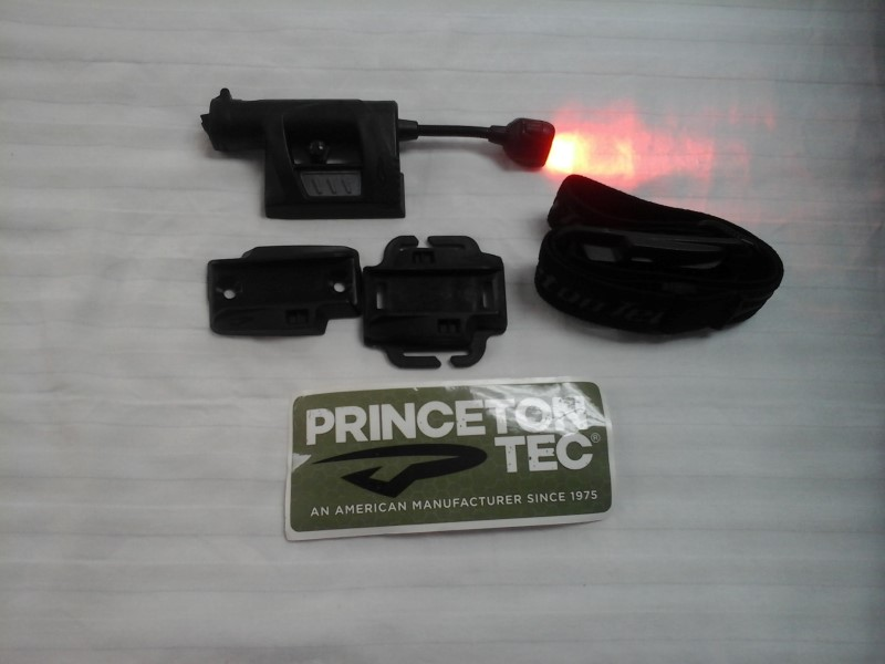 PRINCETON TEC RED LED HEADLAMP