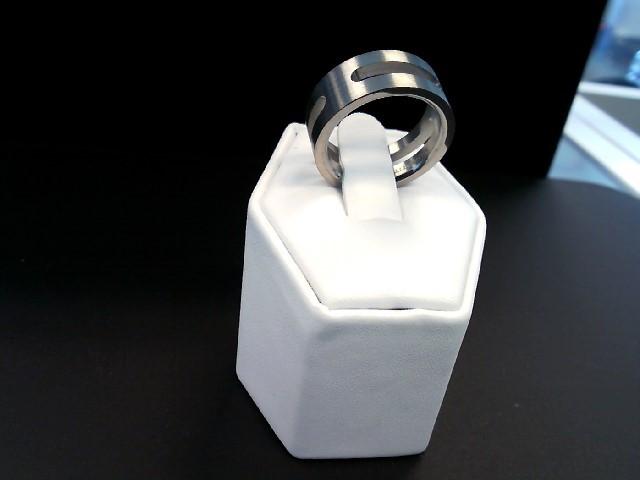 Gent's Ring Silver Titanium 3.4g