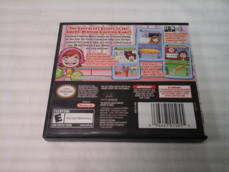 NINTENDO DS COOKING MAMA 2