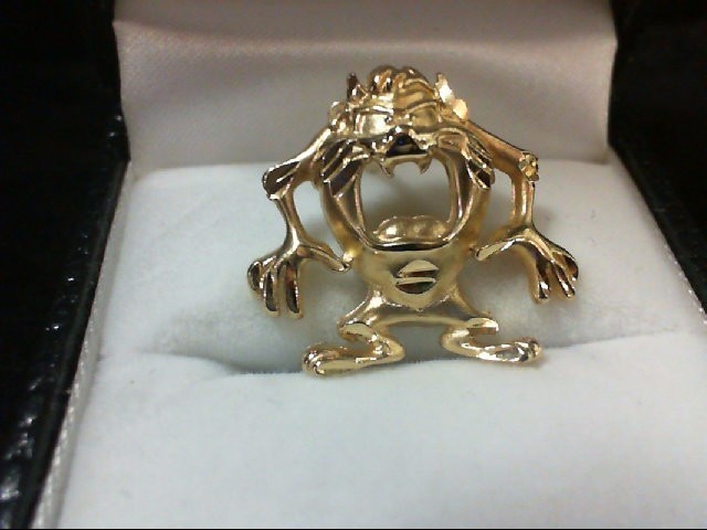 Gold Charm 14K Yellow Gold 3.1g