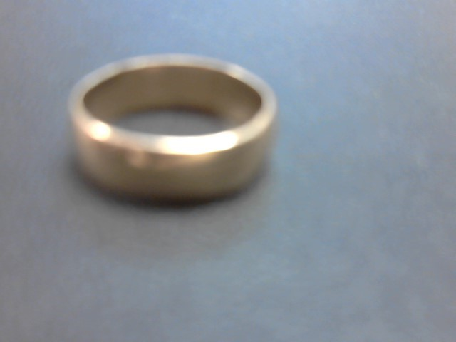 Gent's Gold Wedding Band 14K Yellow Gold 4.3g Size:8.5