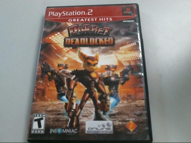SONY Sony PlayStation 2 RATCHET DEADLOCKED (PS2)
