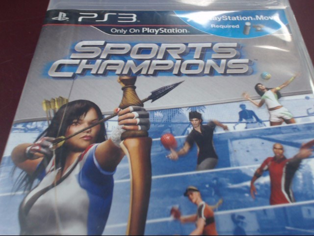 SONY PS3 SPORTS CHAMPIONS