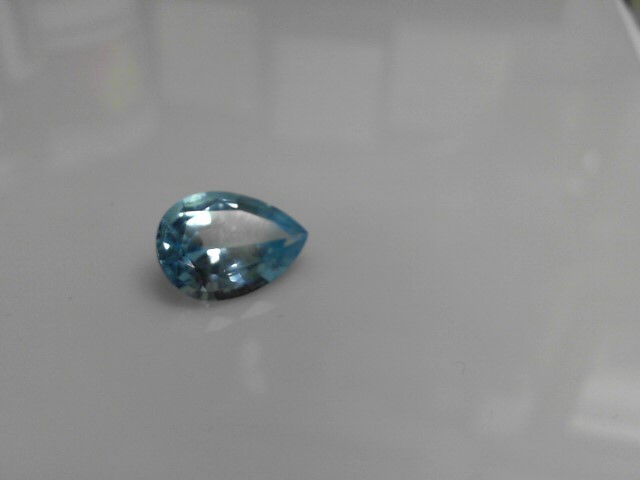 12.76cts Blue Topaz Pear Shape Stone