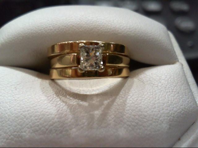 Lady's Diamond Wedding Set .40 CT. 14K Yellow Gold 6.8g