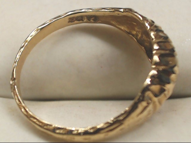 Lady's Gold Ring 10K Yellow Gold 1.6g Size:5