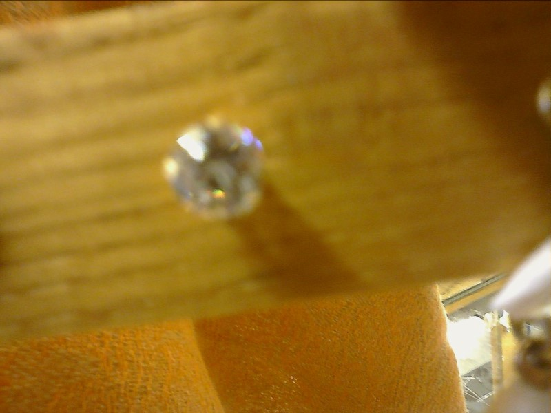 CZ SOLITAIRE EARRING