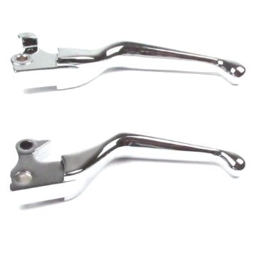 NEW PARTS CYCLE-PARTS CYCLE-PARTS CCI/CHROME SPECIALTI 647994; ERGO LEVERS, CHRO