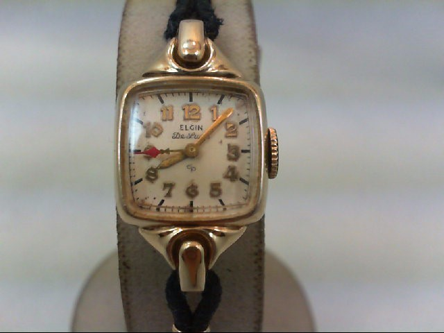 ELGIN LDS WATCH DELUXE ANTIQUE W