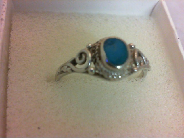 Lady's Silver Ring 925 Silver 2.1g
