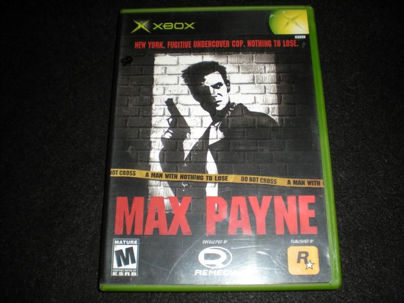 XBOX GAME - MAX PAYNE