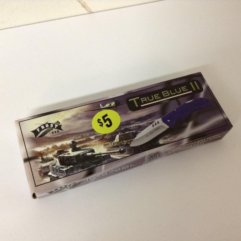 TRUEBLUE II Pocket Knife 18-979BL
