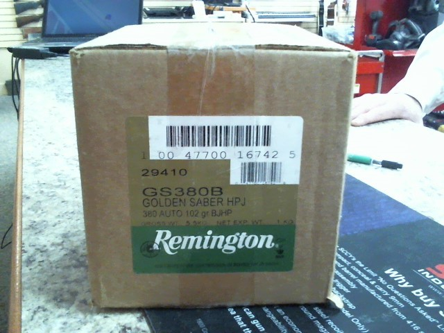 REMINGTON Ammunition GS380B 102GR BJHP