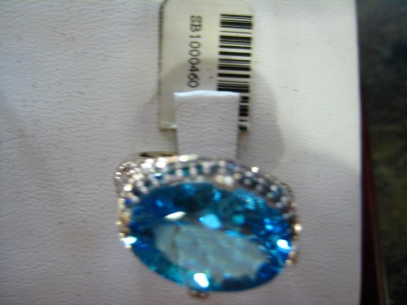 Lady's Gold Ring 14K White Gold 5.59g