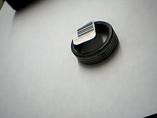 Gent's Ring Black Tungsten 11.89g