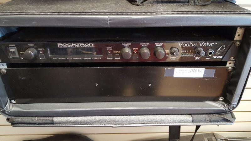 ROCKTRON Electric Guitar Amp VOODU VALVE/TUBE GTR PREAMP