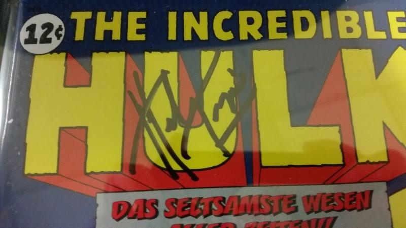 Incredible Hulk #1 Reprint 1999 German Edition CGS Signature 8.5 Trimpe