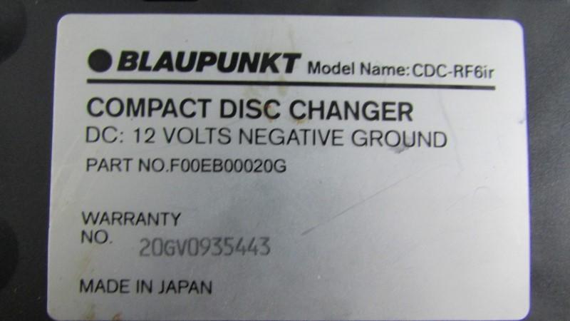 BLAUPUNKT CD Player & Recorder CDC-RF6IR