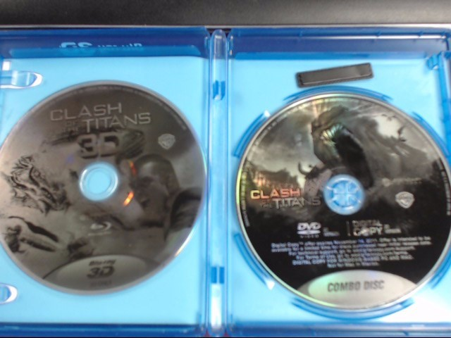 BLU-RAY 3D MOVIE CLASH OF THE TITANS 3D
