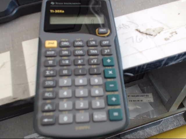 TEXAS INSTRUMENTS Calculator TI-30XA