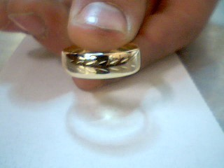 Gent's Gold Ring 14K Yellow Gold 3.5g Size:10