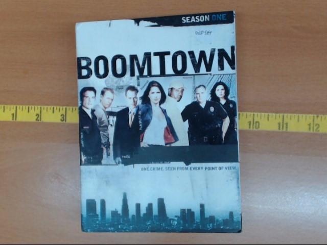DVD MOVIE DVD BOOMTOWN SEASON ONE