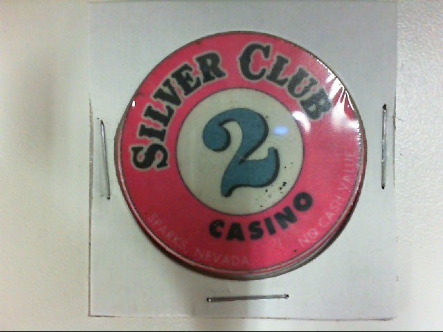SILVER CLUB CASINO 2 TOKEN