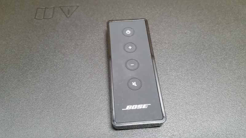 BOSE SOLO TV SOUND SYSTEM BLACK SPEAKER WITH REMOTE