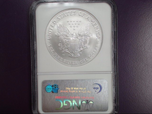 2007 W SILVER EAGLE NGC EARLY RELEASE