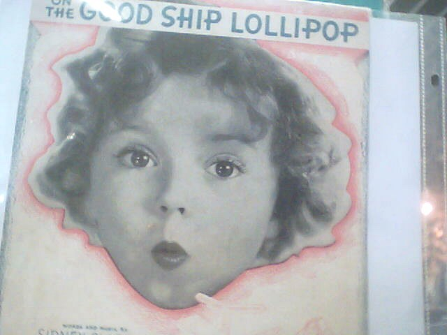 MOVIETONE Entertainment Memorabilia SHIRLEY TEMPLE SHEET MUSIC