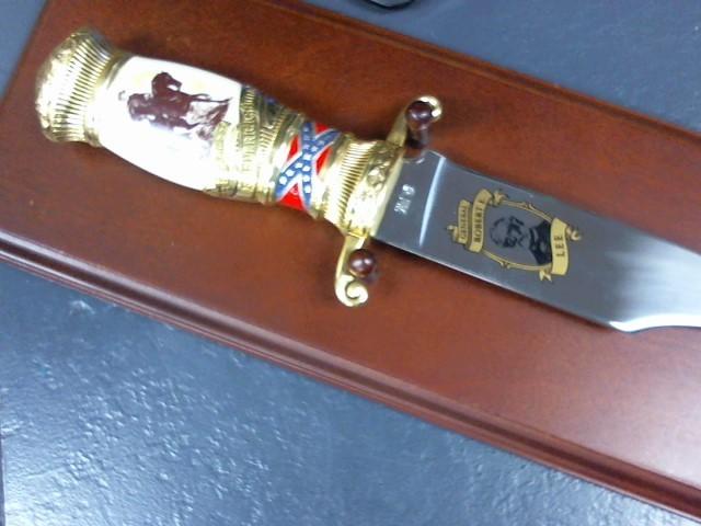 THE BATTLE OF FREDERICKSBURG KNIFE Combat Knife GENERAL ROBER E LEE KNIFE