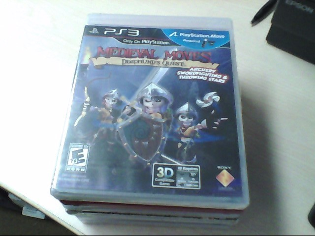 SONY Sony PlayStation 3 MEDIEVAL MOVES DEADMUNDS QUEST