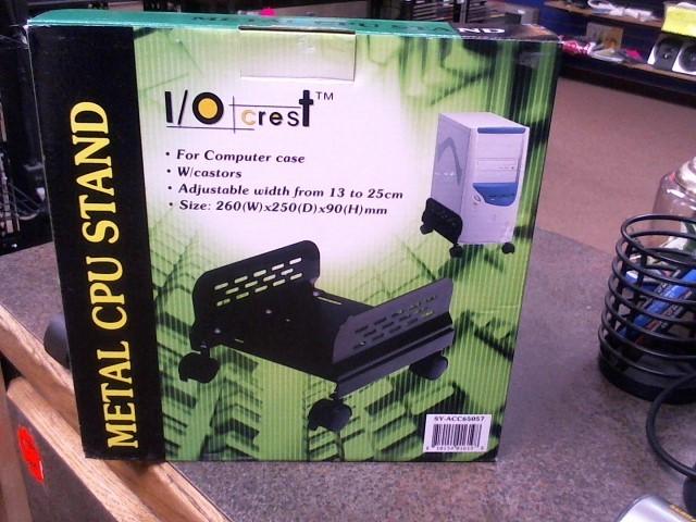 1/0 CREST Computer Accessories METAL CPU STAND