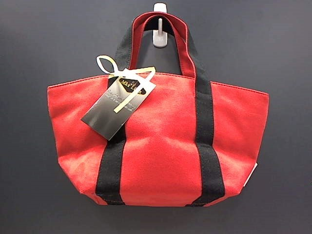 MICHAEL KORS SMALL RED SUEDE TOTE