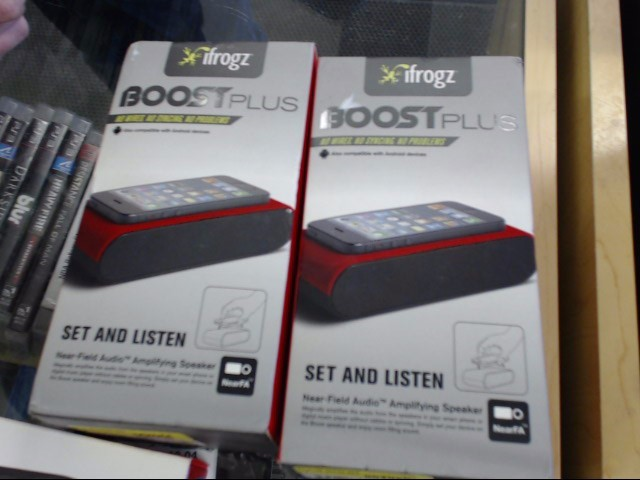 IFROGZ Speakers BOOST