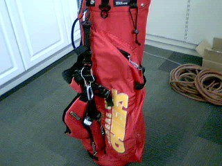 WILSON Golf Accessory KANSAS CITY CHIEFS GOLF BAG