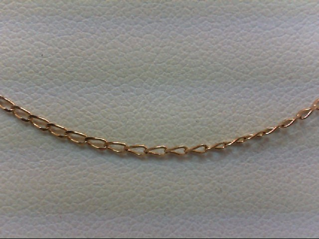 "18"" Gold Link Chain 10K Yellow Gold 0.8g"