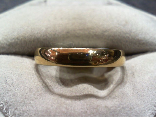 Gent's Gold Ring 10K Yellow Gold 2.6g Size:11.5