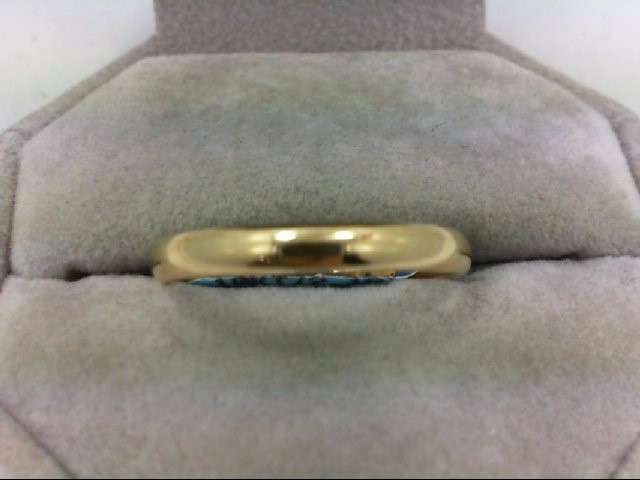 Gent's Gold Ring 10K Yellow Gold 2.2g Size:12